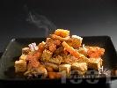 Рецепта Задушено тофу с гъби по китайски със зеленчуци на уок